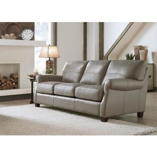 Lazzaro Leather Carlisle Adobe Sofa