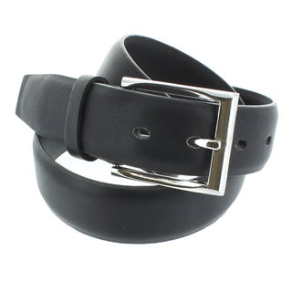 Faddism Men's Smooth Grain Genuine Leather Belt