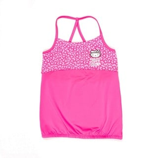 Hello Kitty Cross-trainer Tank with printed yoke