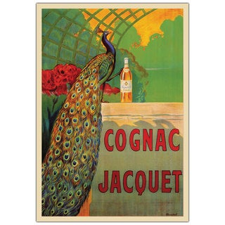 Vintage Art 'Cognac Jacquet' Canvas Wall Art