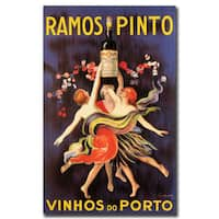 Vintage Art 'Ramos Pinto Vinhos do Porto' Canvas Wall Art