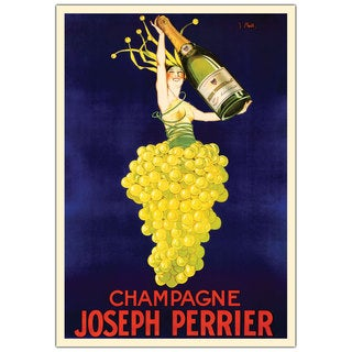 Vintage Art 'Champagne Joseph Perrier' Canvas Wall Art