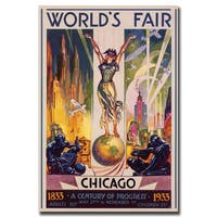 Glen Sheffer 'World's Fair Chicago' Canvas Wall Art