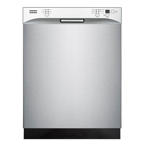 E Star Tall Tub Built In 14 Place Setting 52 Dba Dishwasher With Led