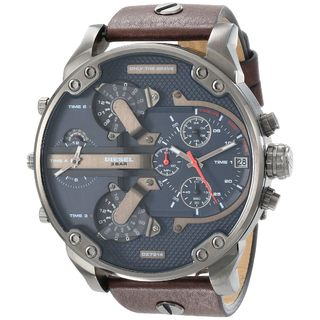 Diesel Men's DZ7314 'Mr. Daddy 2.0' Oversized Chronograph 4 Time Zone Watch
