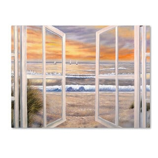 Joval 'Elongated Window On Canvas' Canvas Wall Art