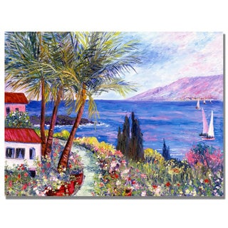 Manor Shadian 'Villa in Maui' Canvas Wall Art