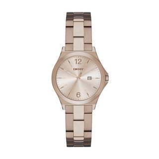 DKNY Women's NY2368 'Parsons' Rose-Tone Stainless Steel Watch