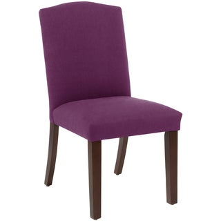 Skyline Furniture Arched Dining Chair in Klein Fig