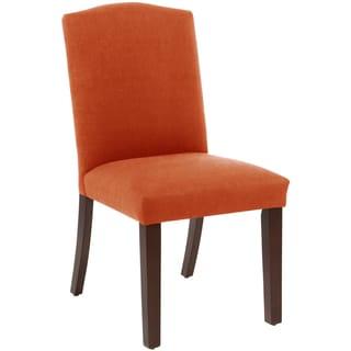 Skyline Furniture Arched Dining Chair in Klein Saffron