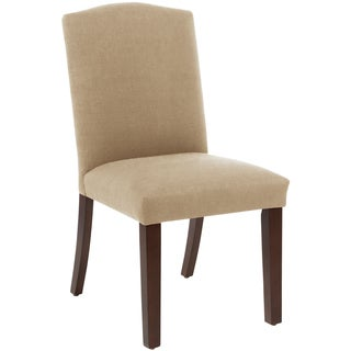Skyline Furniture Arched Dining Chair in Klein Ricepaper