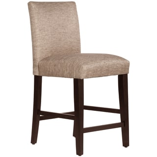 Skyline Furniture Uptown Counter Stool in Groupie Latte