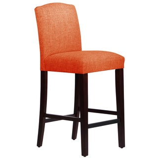 Skyline Furniture Arched Barstool in Klein Saffron