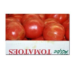 Patty Tuggle 'Tomatoes' Canvas Wall Art