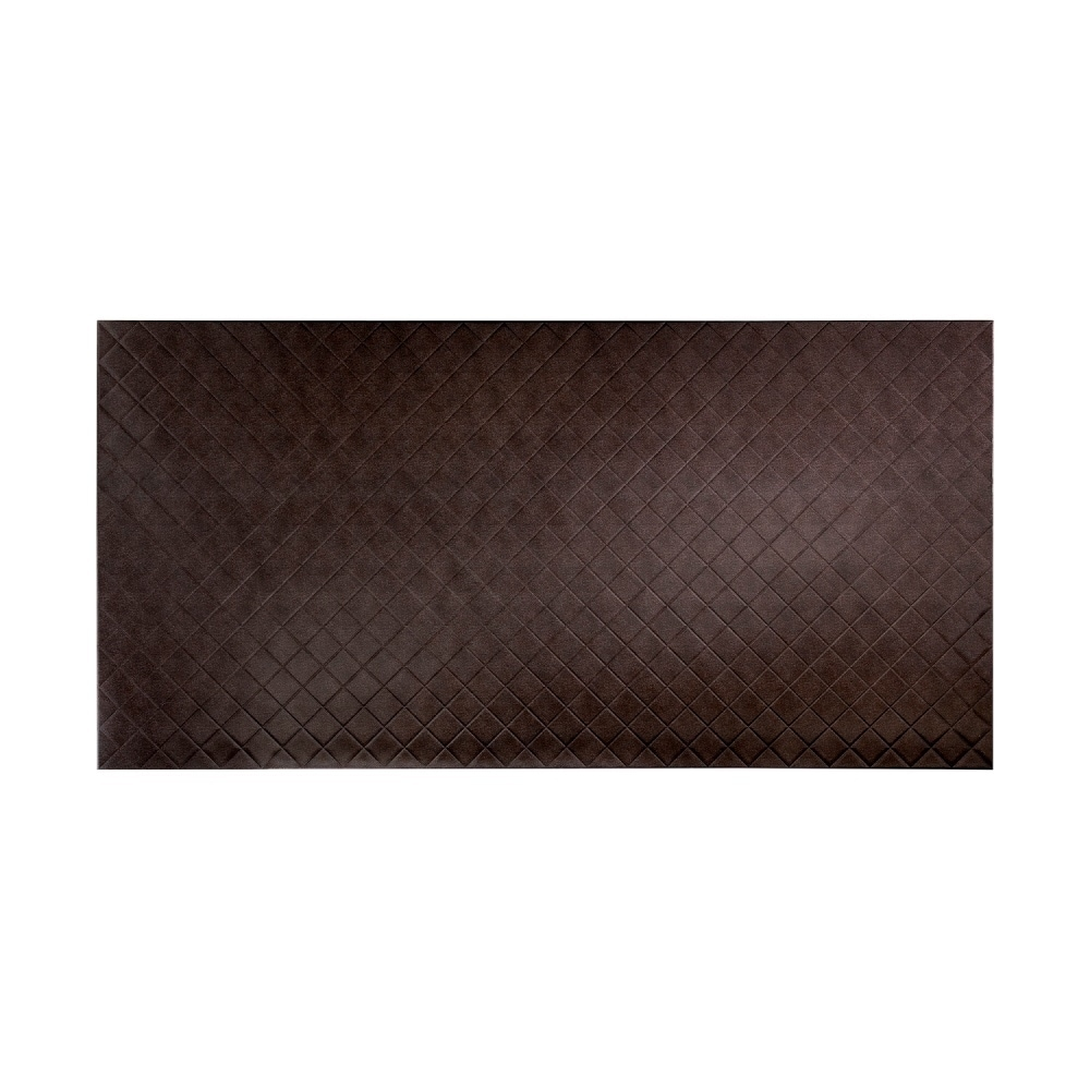 Fasade Quilted Smoked Pewter Wall Panel (4 x 8) (4 x 8)