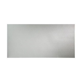 Fasade Hammered Argent Silver Wall Panel (4' x 8')
