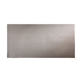 Fasade Hammered Galvanized Steel Wall Panel (4' x 8')