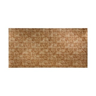 Fasade Alphabet Bermuda Bronze Wall Panel (4' x 8')