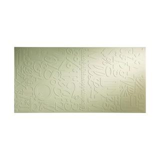 Fasade Alphabet Fern Wall Panel (4' x 8')