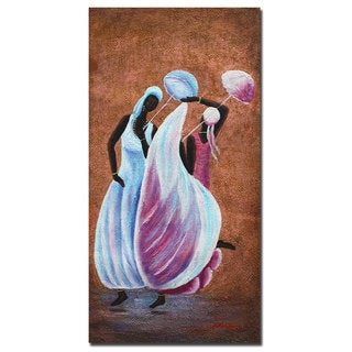 Antonio 'Sunday Dance' Canvas Wall Art