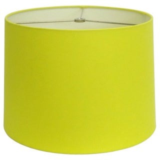Neon Yellow Round Hardback Shade
