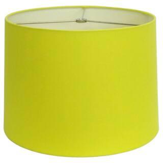 Neon Yellow Round Hardback Shade