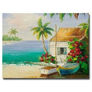 Rio 'Key West Breeze' 18x24 Canvas Wall Art