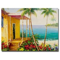 Rio 'Key West Villa' 18x24 Canvas Wall Art