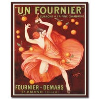 Vintage Art 'Un Fourneir' 36x48 Canvas Wall Art