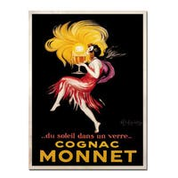Vintage Art 'Cognac Monnet' 36x48 Canvas Wall Art