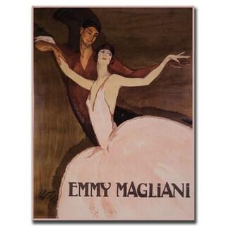 Vintage Art 'Emmy Magliani' 35x47 Canvas Wall Art