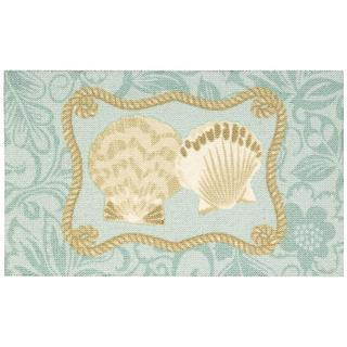 Nourison Enhance Blue Accent Rug (1'8 x 2'9)