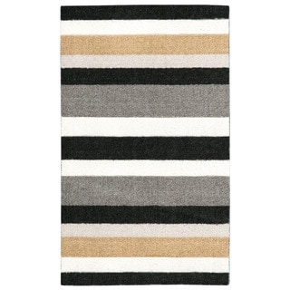 Nourison Enhance Black Accent Rug (1'8 x 2'9)