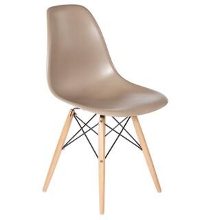 Hans Andersen Home Mid-Century Eiffel Dining Chair Wooden Legs