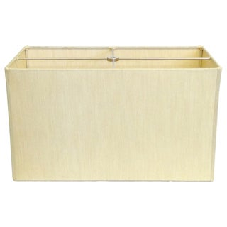 Beige Rectangle Hardback Lamp Shade