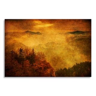 Gallery Direct Roman Solar 'Misty Mountains' Birchwood