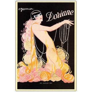 Vintage Art 'Doriane' 24x32 Canvas Wall Art