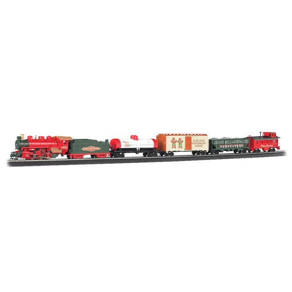 Jingle Bell Express HO Scale Ready To Run Electric Train Set