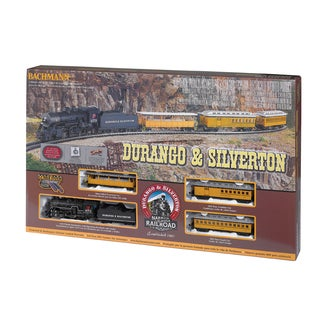 Durango and Silverton HO Scale Ready To Run Electric Train Set