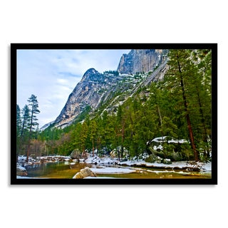 Gallery Direct 'Mirror Lake Yosemite' Paper Framed