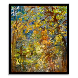 Gallery Direct Sylvia Angeli, 'Nighttime in Paris' Paper Framed