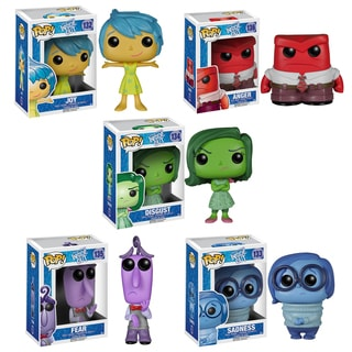Funko Inside Out Pop Disney/ Pixar Vinyl Collectors Set with Sadness/ Joy/ Disgust/ Anger/ Fear