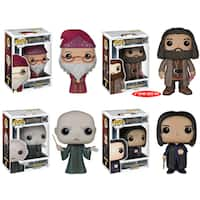 Funko Harry Potter Pop Movie Vinyl Collectors Set with Albus Dumbledore/ Rubeus Hagrid/ Lord Voldemort/ Severus Snape
