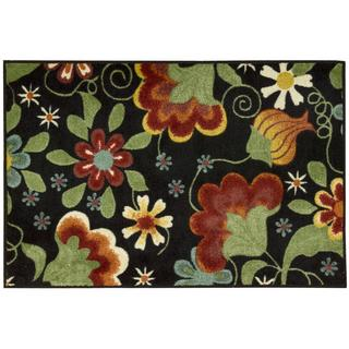 Nourison Accent Decor Black Accent Rug (2' x 3')