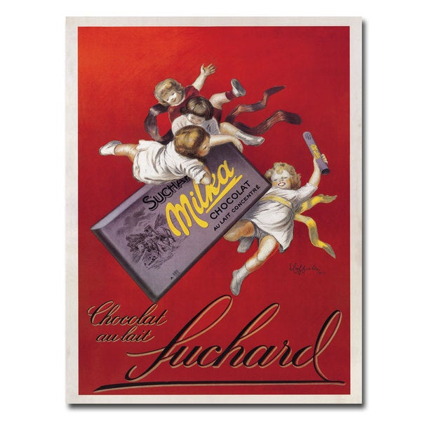 Vintage Art 'Chocolat Au Lait' 14x19 Canvas Wall Art