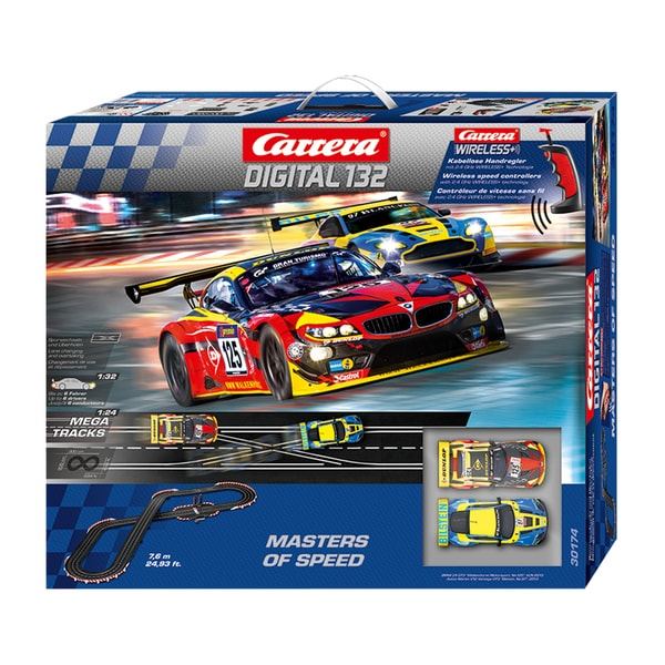 carrera master of speeds digital 1 32 scale slot car race. Black Bedroom Furniture Sets. Home Design Ideas