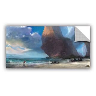ArtAppealz Steve Goad 'Walk On The Beach' Removable Wall Art