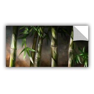 ArtAppealz Steve Goad 'Bamboo' Removable Wall Art