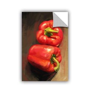 ArtAppealz Steve Goad 'Bell Peppers' Removable Wall Art