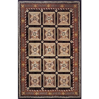 Baroque Ornament Hand-Tufted Rug (8'x11')